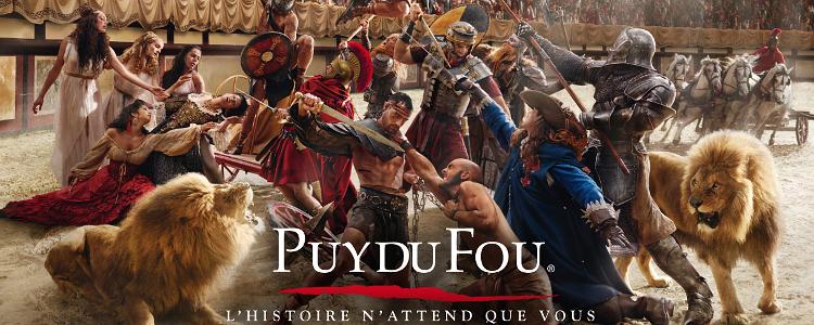 Puy de Fou Vendee France